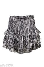 Isabel Marant h&m HM Ikat Muster Rüsche Tiered Silk Rock US 10-NWT