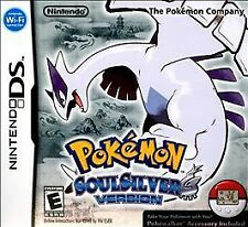 original Pokemon Soul Silver Nintendo DS Game only