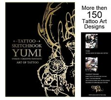 TATTOO SKETCHBOOK by Yumi from China Ink (111 pages) Design Sketch Flash Book