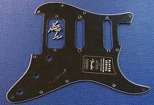 Fender Player HSS Stratocaster Strat Black PICKGUARD Guitar Parts 11 Hole 3 Ply