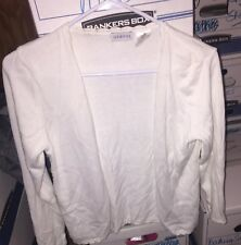 Girls/juniors White Sweater by George size 14