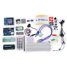 Ultimate UNO R3 Upgraded Starter Kit for Arduino 1602 LCD Motor RTC LED New CE