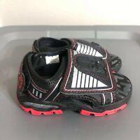 Disney Star Wars Darth Vader Toddler Slip On Shoes Size 7/8 Boys Black Sandals