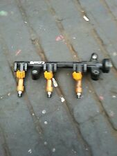 TOYOTA YARIS 1.0 PETROL 06-07-08-09 FUEL RAIL WITH FUEL INJECTORS
