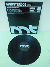 "Nu NRG Dreamland (Disc 2) Monster Tunes 005 Adam Sheridan Remix Trance 12"" Vinyl"