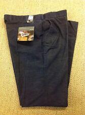 men's M&S W40 L33.5 Cords, Blue Corduroy Trousers. New