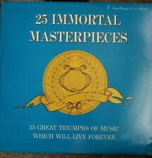 25 IMMORTAL MASTERPIECES VINYL LP PICKWICK EXCELLENT CONDITION