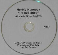 Herbie Hancock  Possiblities  2005 U.S. promo dvd
