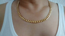"24"" 18K Gold Filled Chain Necklace & Gift Box, Dad's Brother Christmas Present"