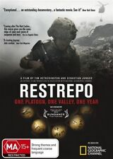 Restrepo Outpost Korengal Afghanistan War Doco DVD - The Bullets are REAL !