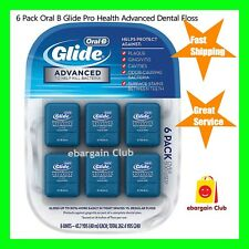 6 Pack Oral B Glide Pro Health Advanced Multi Protection Dental Floss eBC