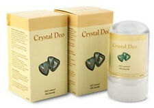 Crystal Salt Natural Deodorants 2 x 75g (Twin Pack)