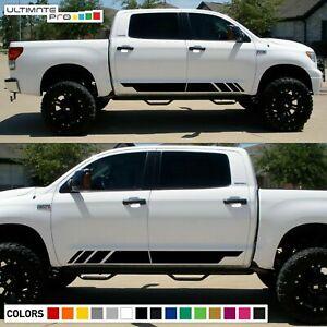 Decal sticker stripe For TOYOTA TACOMA side steps 2011 2013 2014 2015 2016 2017