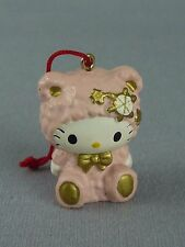 Hello Kitty Sanrio Miniature Hanging Ornament / Angel in Pink Pajamas / '76 '05