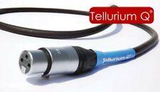 Tellurium Q Black Digital XLR AES/EBU Interconnect 1.0m