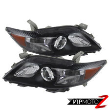 2010-2011 Toyota Camry JDM Black Housing Headlight Headlamp Assembly LEFT RIGHT