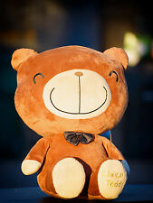 "CHOCO TEDDY DARK BROWN SMALL TEDDY BEAR 12"" INCH / 30 CM TALL"