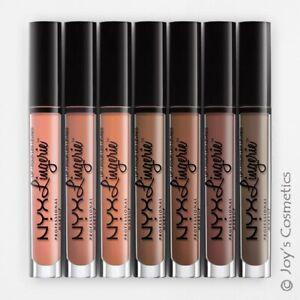 """1 NYX Lip Lingerie Liquid Lipstick Matte - 3 Piece Set """"Pick Your 1 Set"""" *Joy's*"""