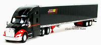 Kenworth T680 Black Sleeper JEM TRANSPORT w/53' Reefer Trailer 1/87 HO TNS121