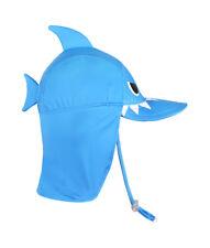 Pinkfong Baby & Boys Flap Sun proection Swim Hat Shark 20'' (2-5 years)