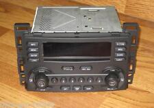 NEW UNLOCKED OEM 2004-2006 GM CHEVY MALIBU LS 6 DISC CD CHANGER RADIO Plug&Play
