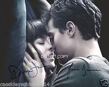 Fifty Shades of Grey Jamie Dornan & Dakota Johnson reprint signed 8x10 photo #3