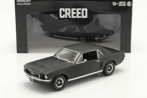 Ford Mustang Coupe 1967 Film Creed (2015) mattschwarz 1:18 Greenlight