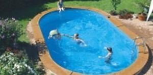 Innenfolie 7,30 x 3,70 x 1,20 Poolfolie blau Innenhülle Schwimmbadfolie