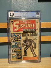 Tales of Suspense 39 CGC 2.5 | OW/W | 1st Appearance Tony Stark Iron Man | TOS39