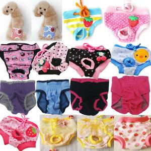 Adjustable Female Dog Puppy Nappy Period Menstrual Heat Season Pants Hygiene