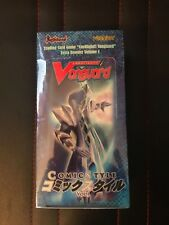 NEW! VGE-EB01 Comic Style Vol. 1 Booster Box Cardfight!! Vanguard English