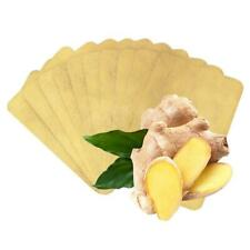 10/50/100X Ginger Detox Patch Body Neck Knee Pad Herbal Pain LOT Pads P4Q2