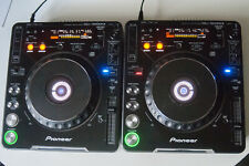 2x Pioneer CDJ-1000 MK2, Pair, Cables Included
