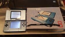 Blue Original Nintendo DS Handheld Console Boxed Charger Manuals