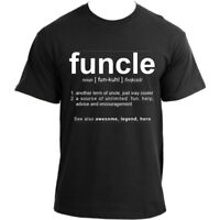 Funcle Uncle Gift Idea Novelty T Shirt Humor Cool Very Funny Uncle Tshirts Fo...