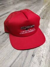 Corvette Plant Bowling Green KY -  Red New Era Snapback Hat - Made in USA