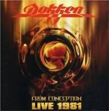 DOKKEN - LIVE 1981 FROM CONCEPTION  CD