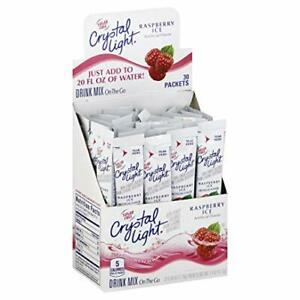 Crystal Light Raspberry Ice Drink Mix (30 On the Go Packets)