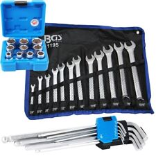 BGS Zoll Werkzeug Set Schraubenschlüssel Steckschlüssel Set Inbus für Schrauben
