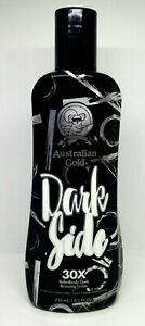 Australian Gold DARK SIDE 30X Bronzer Indoor Tanning Lotion 8.5 Oz