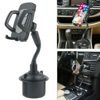 Universal Adjustable Car Cup Mount Holder Cradle For iPhone Samsung Cell Phone