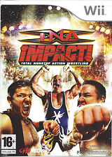 TNA IMPACT TOTAL NONSTOP ACTION WRESTLING for Nintendo Wii - PAL