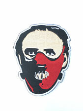 Dr Hannibal Lecter Mask Patch Embroidered Badge Silence of the Lambs Red Dragon