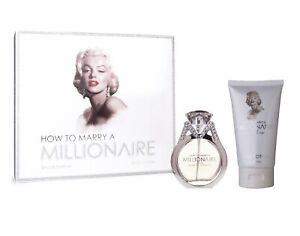 Marilyn Monroe How to Marry a Millionaire 50ml Edp spray + 150ml body lotion