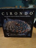 CIRONDO THE ULTIMATE GAME OF OFFENCE DEFENSE SACRIFICE GREAT RARE BOARD GAME