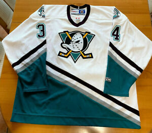 Mighty Ducks of Anaheim NHL Trikot #34 SAUER Größe XXL