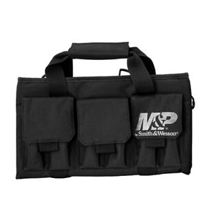 Smith & Wesson M&P Pro Tac Padded Single Handgun Case with Ballistic Fabric Cons