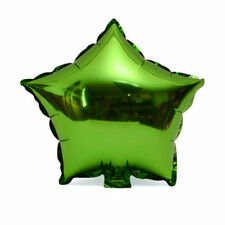 """10 qty 5"""" Star Foil Balloons Wedding Birthday Party Decoration Color For Green"""