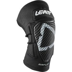 Leatt MX Airflex Pro Black Off Road Motocross Enduro Knee Guards