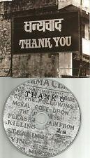 ALANIS MORISSETTE Thank U UK Made PROMO DJ CD Single 1998 USA Seller MINT you